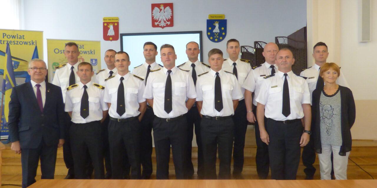 Ostrzeszowscy strażacy zakończyli misję w Grecji