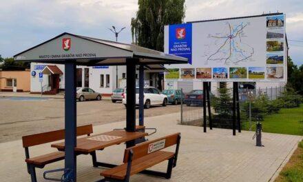 SMART ECO CITY na dworcu autobusowym w Grabowie nad Prosną