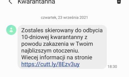 UWAGA – Ostrzeżenie przed fałszywymi SMS-ami