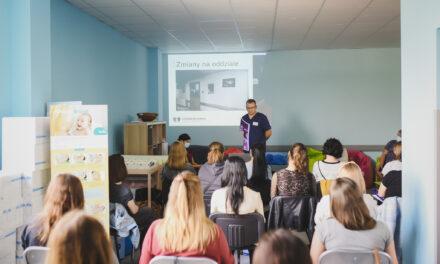 Poród? W Ostrzeszowie!  Spotkanie na Oddziale Ginekologiczno-Położniczym Ostrzeszowskiego Centrum Zdrowia