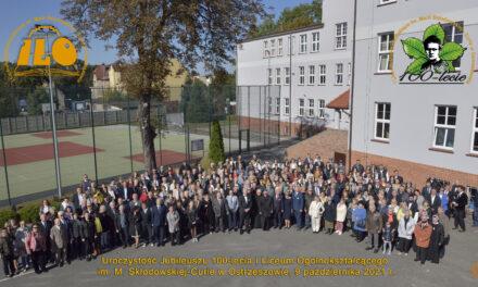 I Liceum Ogólnokształcące w Ostrzeszowie świętowało 100-lecie istnienia (FILM)