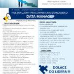 PRACA: DATA MANAGER